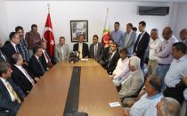 İzmir Gazeteciler Cemiyetine ziyaret
