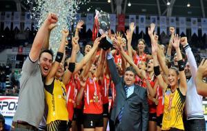 Kadınlar voleybolda Şampiyonlar Kupası Vakıfbank'ın