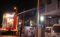 Mülteciler Geri Gönderme Merkezi'ni ateşe verdi