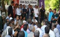 Nakış işçilerinden İŞKUR işçilerine: 'Mücadelenizi selamlıyoruz'