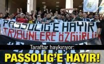 Passolig'e karşı  mücadeleye devam