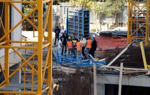 Rezidans inşaatında bir işçi hayatını kaybetti