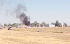Sınırda kitleye asker ve polis saldırısı