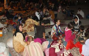 Şırnak'a gece boyunca Êzidî göçü devam etti