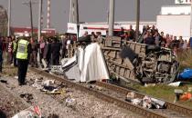 Tren kazasında  yeniden keşif