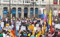 Kral Felipe VI protesto edildi