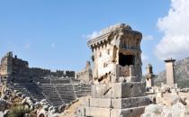 Xanthos'ta kazılar sona erdi