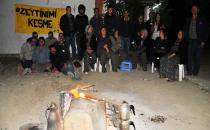 Yırca'da Kolin'e karşı gece nöbeti