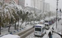 Yüksekova'da erken yağan kar hayatı durdurdu