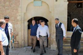 Erdoğan yemin ederken Davutoğlu ile Babacan Ermenek ziyaretindeydi