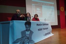 Metin Göktepe, Çalışan Gazeteciler Günü'nde anıldı