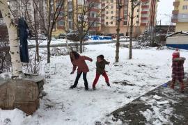 Kar nedeniyle eğitime ara verilen il ve ilçeler (13 Şubat 2020)