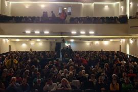 Eskişehir'de Evrensel'le dayanışma etkinliği