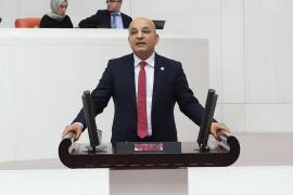 CHP Milletvekili Polat: Menderes'in doğası mermer ocaklarına teslim