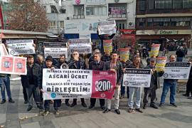DİSK Tekstil Antep Temsilciliği ve Başpınar işçilerinde asgari ücret açıklaması