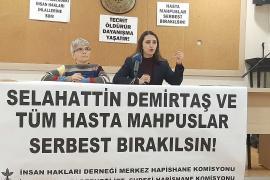 Demirtaş'ın sağlık durumuna ilişkin rapor: Çok fazla kilo kaybı var