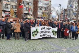Edremit'te asgari ücret açıklaması: İnsanca yaşamak istiyoruz