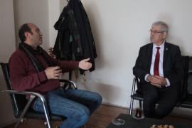 CHP İzmir Milletvekili Kani Beko Evrensel'i ziyaret etti