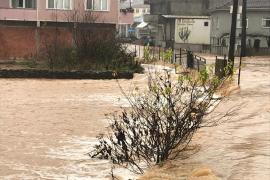 Sakarya'da sağanak sele neden oldu: Karasu ve Kocaali ilçelerini su bastı
