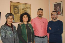 BES'ten Evrensel'in Ankara Bürosuna dayanışma ziyareti