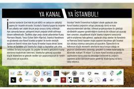 İTÜ'deki 30 öğrenci kulübü ve bileşeninden çağrı: Kanal İstanbul projesini durdurun!