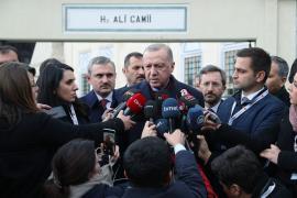 Erdoğan'dan İmamoğlu'na: Kanal İstanbul konusu bu şahsın konusu değil
