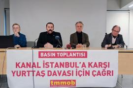 TMMOB İstanbul İKK: Kanal İstanbul Projesine değil, sağlığa bütçe!
