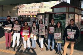 Üniversiteli gençlerden Evrensel'e destek: Evrensel susmayacak