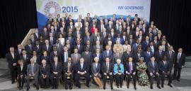 Babacan, 'IMF aile fotoğrafı'nda