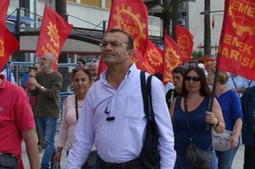 EMEP Didim yöneticisi Sürmeli Bal sivil kişilerce takip ediliyor