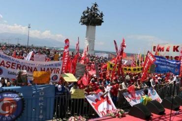 İzmir, Manisa ve Denizli'de 1 Mayıs kutlamaları