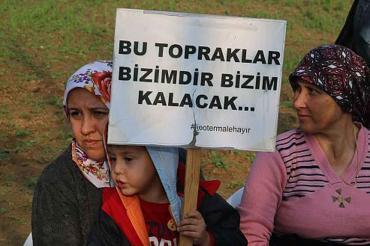 ŞPO İzmir Şubesi: Doğal sit alanları ranta kurban edilemez