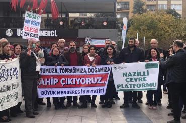 Kızılcaköy'de JES projesi ÇED raporunun onaylanmasına halk tepkili