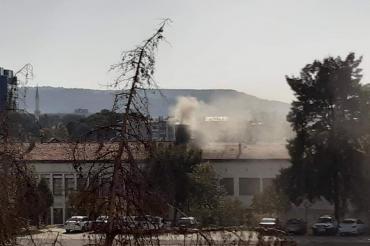 Buca'da yurttaşlar cezaevinin bacasından yayılan dumandan şikayetçi