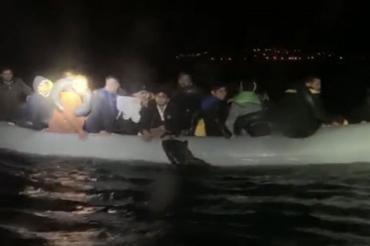 Çeşme, Seferihisar ve Foça'da mültecilere engelleme