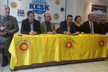 İzmir'de KESK mitingine meslek örgütlerinden çağrı: Demokratik bir ülke için alanlara