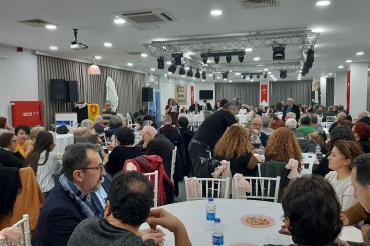 Eğitim Sen İzmir 4 No'lu Şubesi 25. yılını kutladı