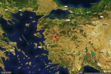Manisa'da 3.8 büyüklüğünde deprem (24 Ocak 2020)