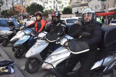 Motosikletli kuryelik 'az tehlikeli sınıfından yüksek tehlikeli iş' sınıfına gelmeli