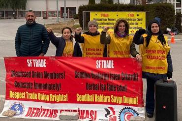 SF Trade Tekstil'de kadın işçilerin direnişi 110'uncu gününde