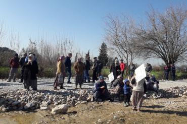 Aydın Kuyucular'da JES çalışanları, köylülerin üzerine yürüdü