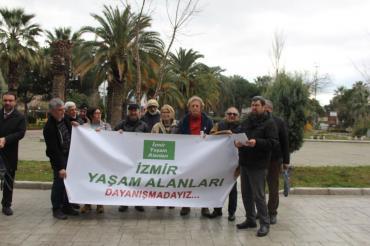 İzmir Yaşam Alanları Platformu acele kamulaştırmaların iptali için dava açtı