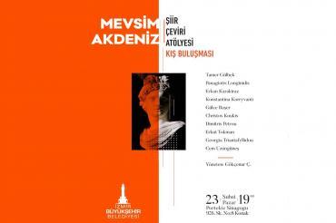 Ege'nin iki yakası İzmir'de şiirlerle bir araya geliyor