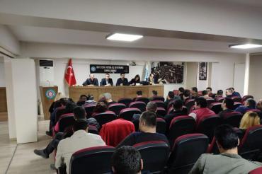 Genel-İş İzmir 2 No'lu Şubesi temsilciler kurulunda İzmir'deki direnişler gündemde