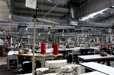 Aydın'da bulunan Uçak Tekstil üretime ara verdi