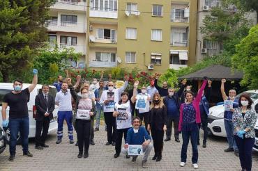 İzmir'de 1 Mayıs kutlamaları iş yerlerinde devam ediyor