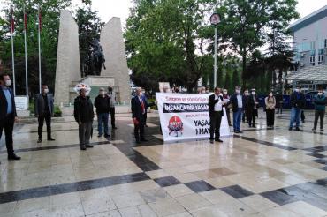 Denizli'de Emek ve Demokrasi Güçleri 1 Mayıs kutladı