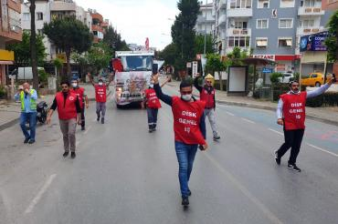 Gaziemir'deki temizlik işçilerine '1 Mayıs cezası' Meclis gündeminde