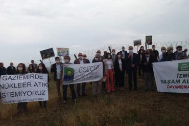 Gaziemir'deki nükleer atık için 12 yıldır hiçbir çalışma yapılmadı