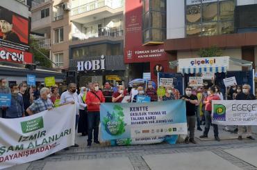 Dünya Çevre Günü | İzmir'de ekolojik yıkıma tepki